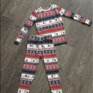 Gap Kids Size 8 Pajama Set Long Sleeve